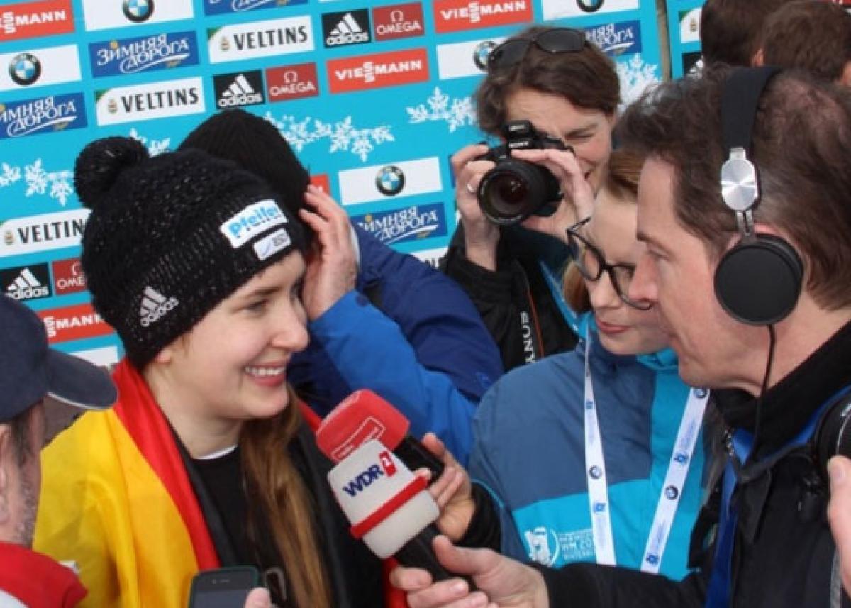 Wir gratulieren Jacqueline zur WM-Silbermedaille