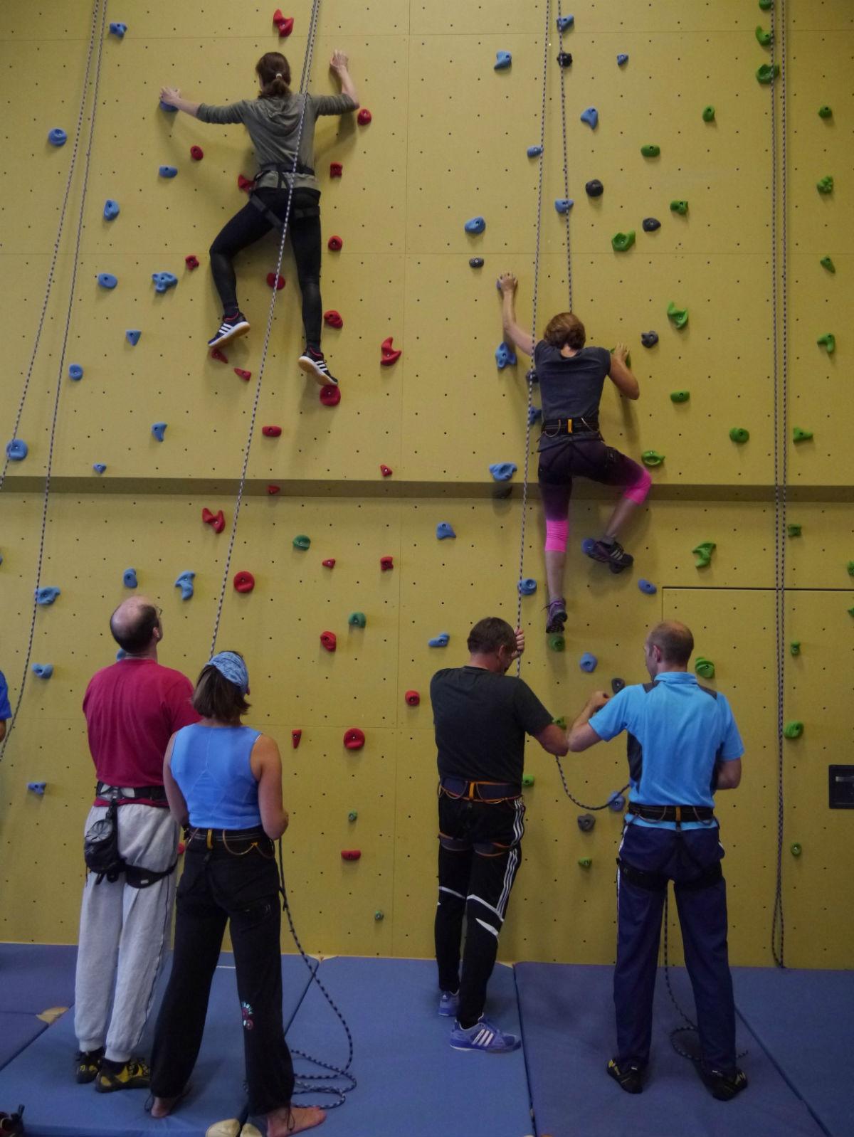 Sportklettern am Geschwister-Scholl-Gymnasium